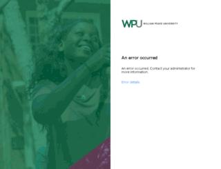 mypacernet.peace.edu screenshot