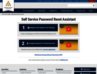 mypassword.southtexascollege.edu screenshot