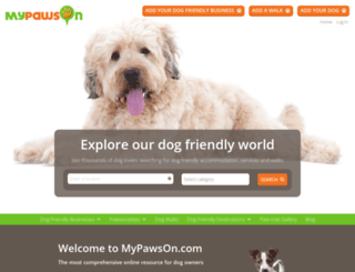mypawson.com screenshot