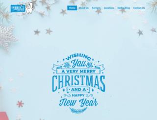myperfectdental.com screenshot