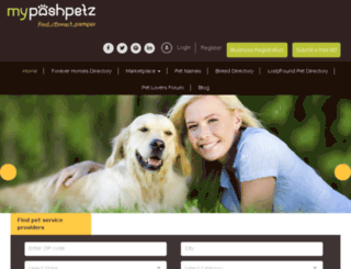 mypetzcenter.com screenshot