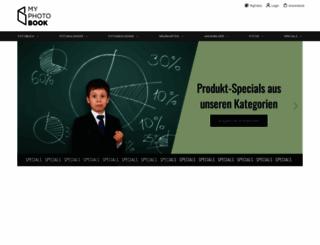 myphotobook.de screenshot