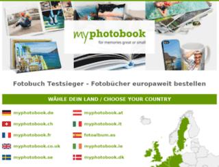 myphotobook.eu screenshot