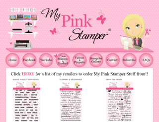 mypinkstamper-products.blogspot.com screenshot