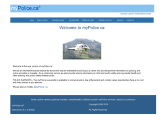 mypolice.ca screenshot
