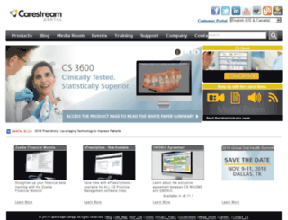 mypractice2.carestreamdental.com screenshot