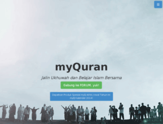 myquran.or.id screenshot