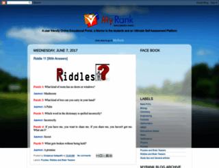 myrankedu.blogspot.com screenshot