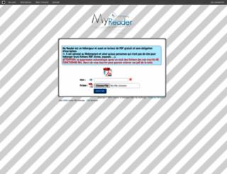myreader.toile-libre.org screenshot