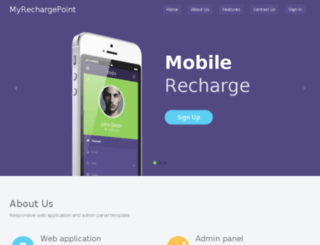 myrechargepoint.com screenshot
