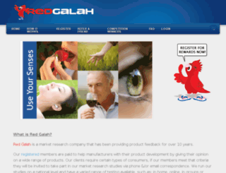 myredgalah.com.au screenshot