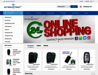 myremotekey.com screenshot