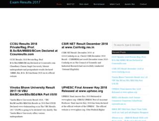 myresults2015.in screenshot