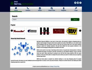 myretailnetwork.com screenshot
