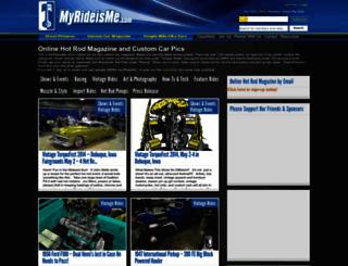 myrideisme.com screenshot