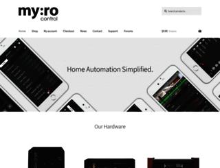 myrocontrol.com screenshot
