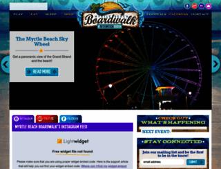 myrtlebeachdowntown.com screenshot