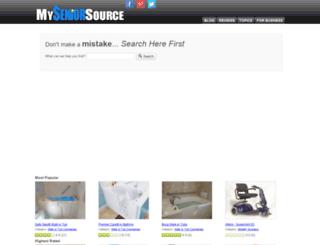 myseniorsource.com screenshot