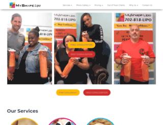 myshapelipo.com screenshot