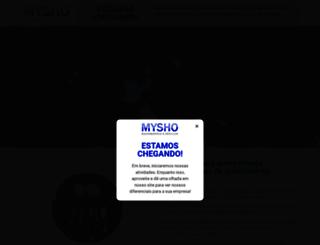 myshoes.com.br screenshot