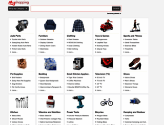 myshopping.com.au screenshot