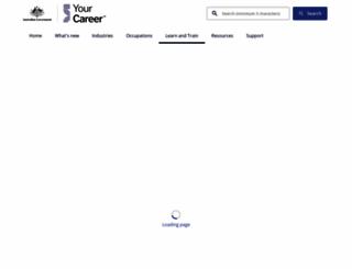 myskills.gov.au screenshot