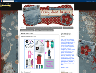 myskinnyjeansdreams.com screenshot