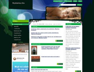 myslienkadna.webnode.sk screenshot
