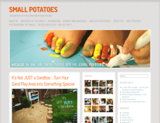 mysmallpotatoes.com screenshot