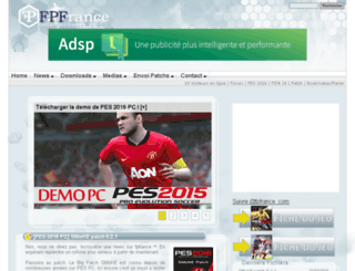 mysoccerpatch.com screenshot