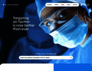 mysocialdatabase.com screenshot