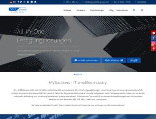 mysolutions-group.com screenshot