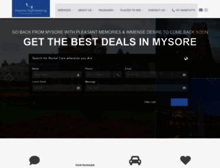 mysoresightseeing.com screenshot