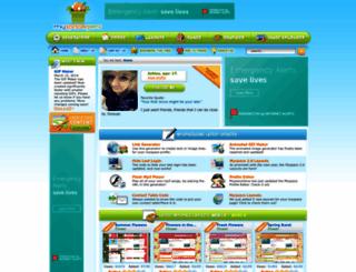 myspacegens.com screenshot