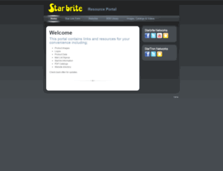 mystarbrite.com screenshot