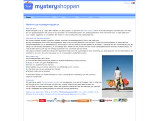 mysteryshoppen.nl screenshot