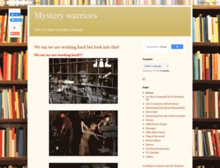 mysterywarriors.blogspot.in screenshot