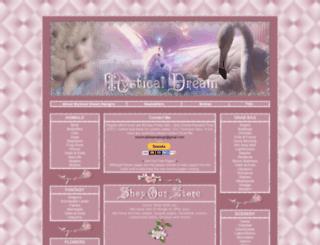 mysticaldreamdesigns.com screenshot