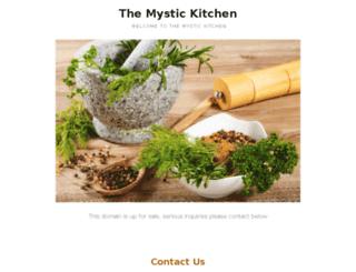 mystickitchen.com screenshot