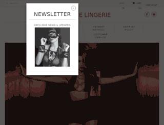 mystique-lingerie.com screenshot