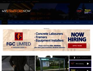 mystratfordnow.com screenshot