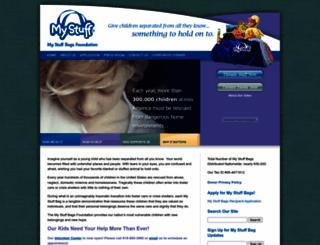 mystuffbags.org screenshot