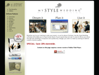 mystylewedding.com screenshot
