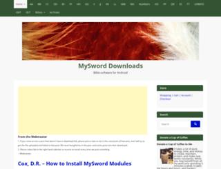 myswordmodules.com screenshot