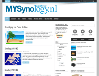 mysynology.nl screenshot