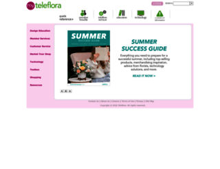 myteleflora.com screenshot