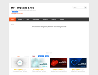 mytemplatesshop.com screenshot