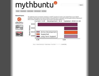 mythbuntu.org screenshot