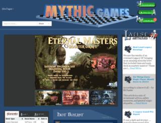 mythicgameselmira.com screenshot
