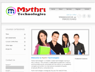 mythritechnologies.net screenshot